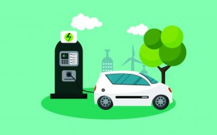 Free electric vehicles charging points