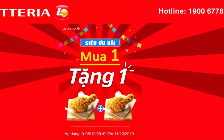 LOTTERIA – AMAZING OPENING PROMTIONS