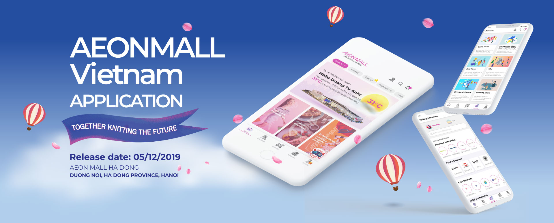 AEONMALL APP – A MORE STRESS-FREE EXPERIENCE IN A MALL