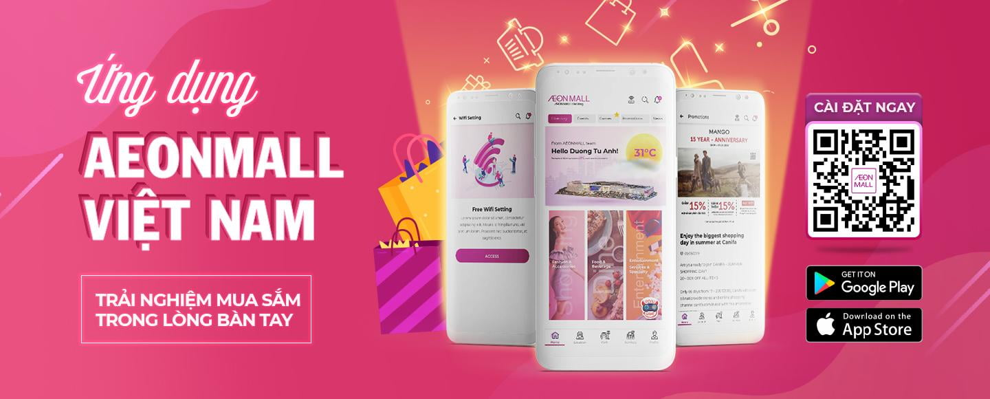 AEONMALL APPLICATION – A MORE STRESS-FREE EXPERIENCE IN A MALL