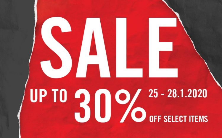 CONVERSE – SALE UP TO 50% OFF SELECTED ITEMS