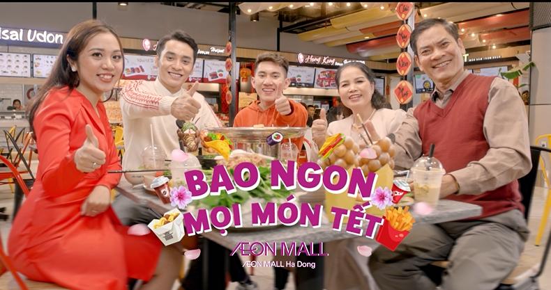 AEON MALL Hà Đông – Bao Ngon, Bao đẹp, Bao Vui mọi ngày Tết!